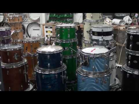 Steve Maxwell Vintage Drums - Illinois Shop Walkthrough