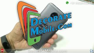 Motorola moto G5S Lamination by Decorate Mobile