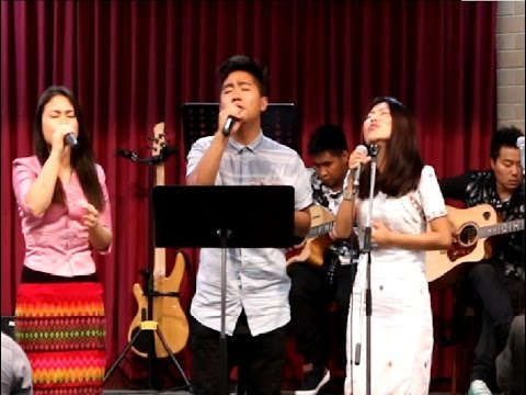 Nanglawng kan duh || Pathian Hla Thar 2018 Trio with lyric