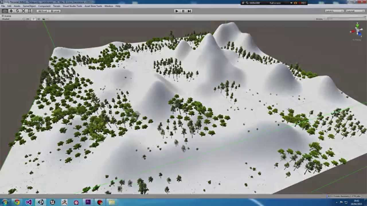 Landscaper - A foliage placement tool for Unity