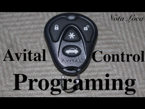 Directed Electronics 3100 Wiring Diagram Contactor With Timer Avital Remote Control Programing Fix Youtube