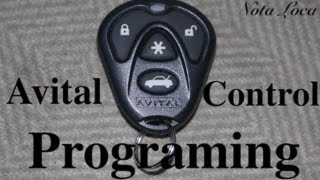 avital remote control programing fix