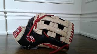 Rawlings Bryce Harper outfield glove ( short review )