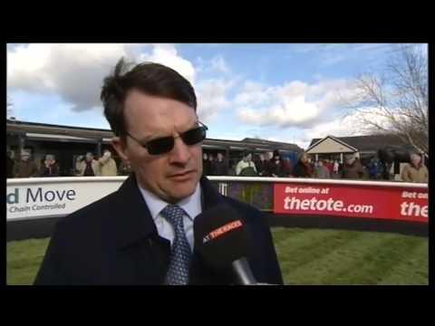 Aidan O'Brien interview at the Curragh
