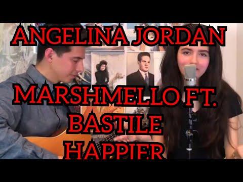 Angelina Jordan   Marshmello Ft.Bastile   Happier   Reaction