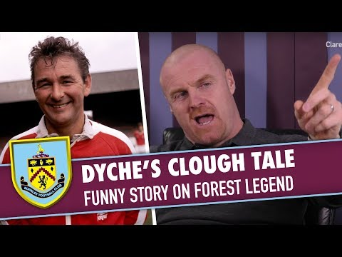 TURF MORE LIVE | Sean Dyche's Brian Clough Tale