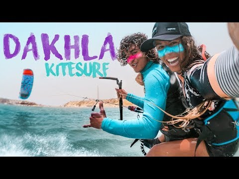 Kitesurf VLOG: Dakhla, Sahara Occidental, Maroc! ( KITEBOARDING POV )