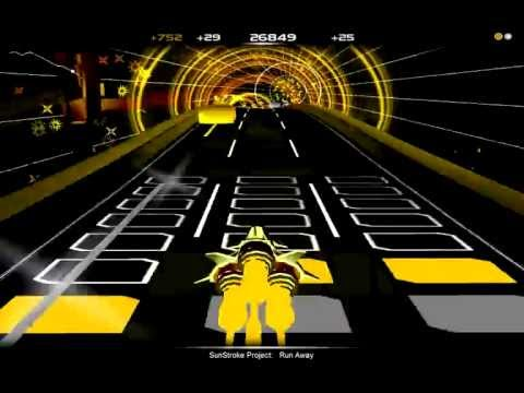 Audiosurf - Run Away (Epic Sax Guy Song)