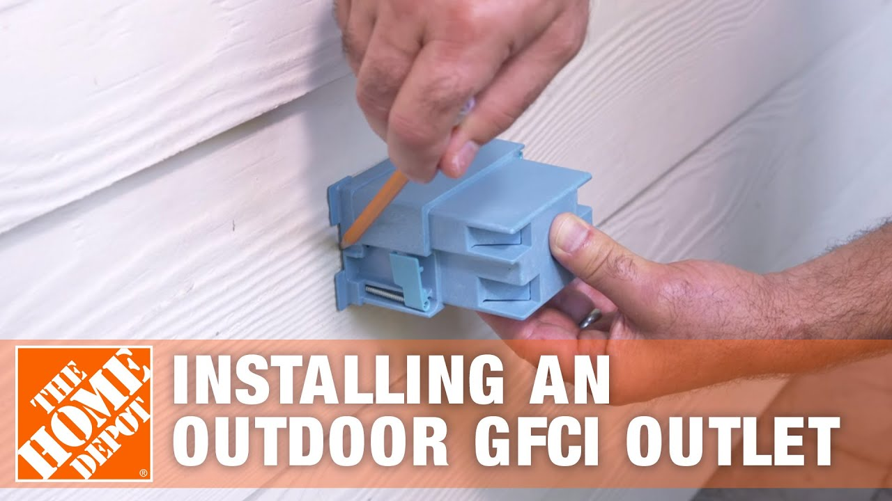 Installing An Outdoor Gfci Outlet Overview Youtube