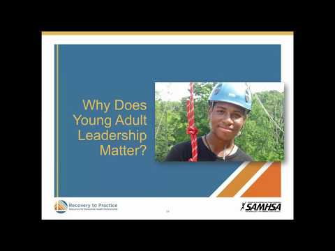 Transition Age Youth: Youth Leadership Benefits Engagement and Resiliency