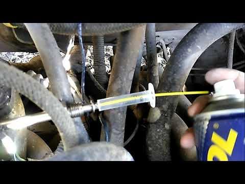 чистка форсунок не снимая с двигателя своими руками