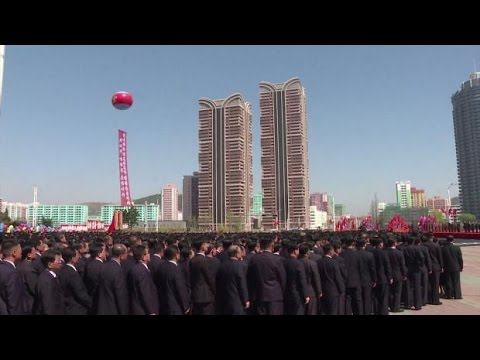 North Korea holds grand ceremony for massive housing project open