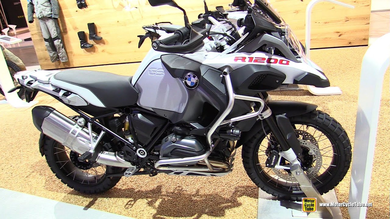2016 BMW R1200GS Adventure - Walkaround - 2015 EICMA Milan ...