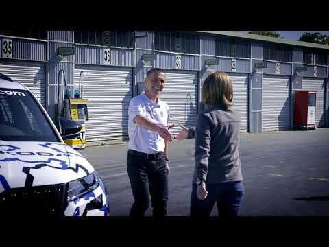 Video: SKODA schickt den KODIAQ RS in die ,Grüne Hölle'