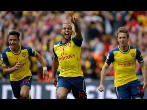 FA Cup Final Arsenal 4 - 0 Final Aston Villa: Full Post Match (all interviews, analysis and goals)