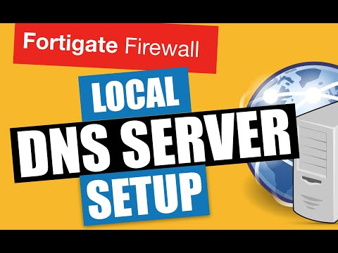 FORTIGATE LOCAL DNS SERVER SETUP