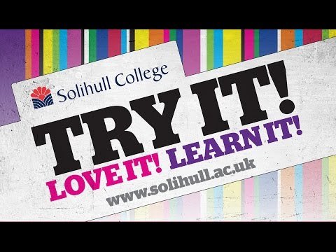 Solihull College 'Try it' Open Events