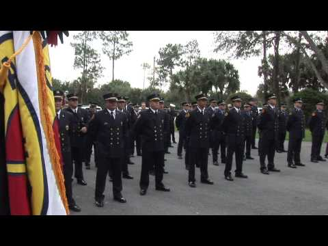 Change Of Command Ceremony- District Chief Bruce Young