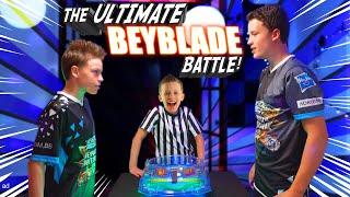 Bro Vs Bro Beyblade Battle and the mysterious Guru!