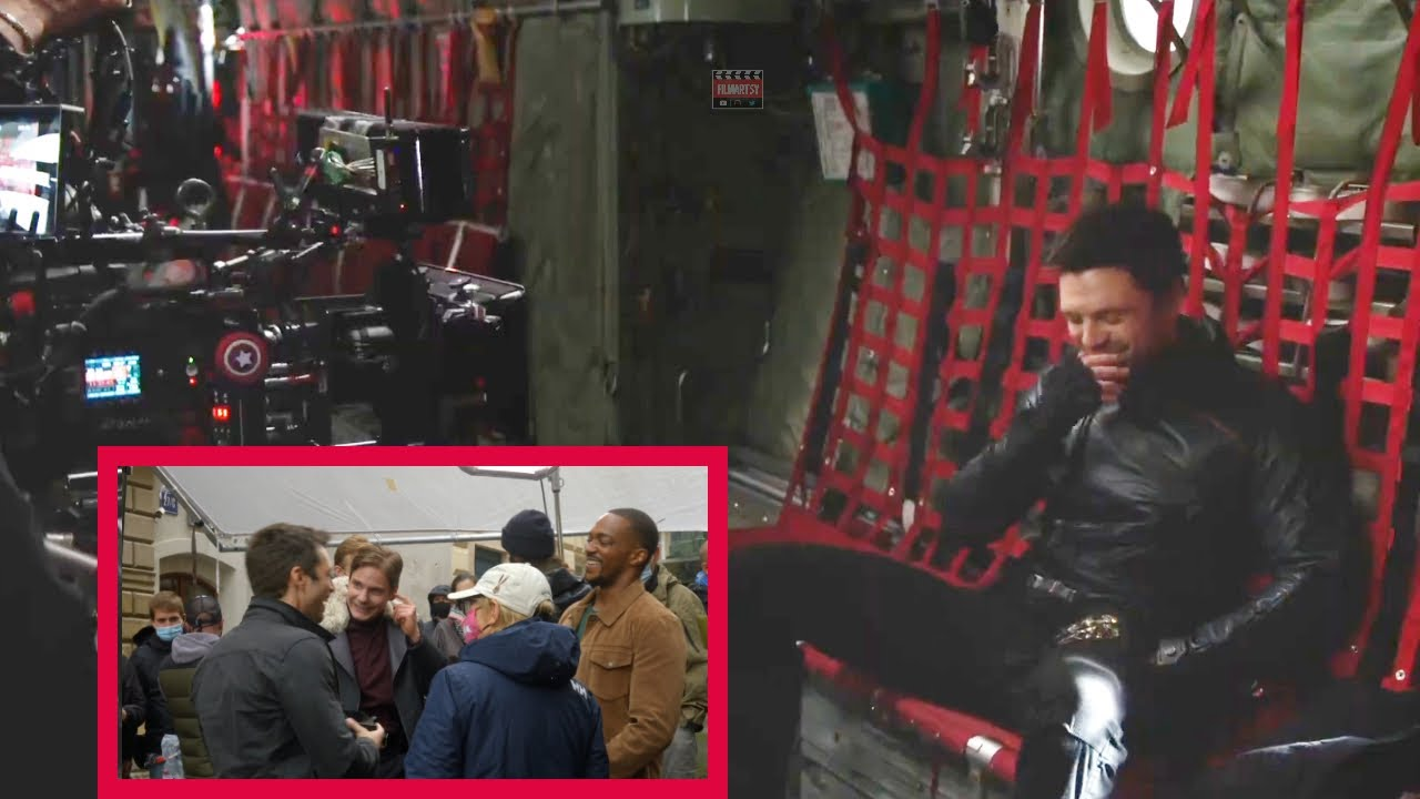 Download The Falcon & The Winter Soldier Bloopers  B-Roll & Behind The Scenes  Anthony Mackie  Sebastian Stan