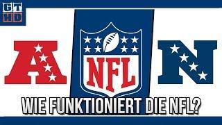 American Football - Spielplan, Playoffs und Ligasystem der NFL für Anfänger [Deutsch/60FPS]