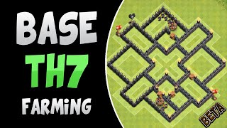 "Clash of Clans | TH7 FARMING BASE | ""BETA"""