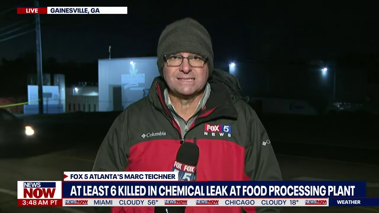 6 dead identified at Georgia poultry plant as inquiry into fatal liquid ...