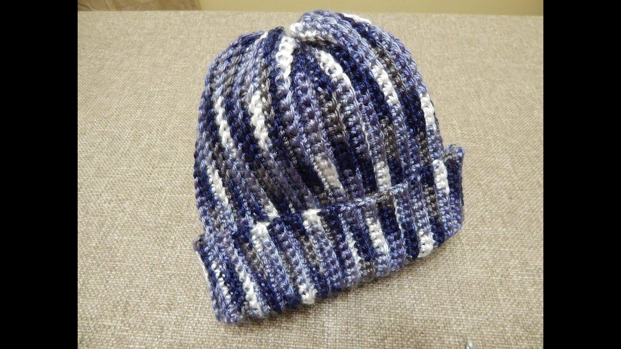 Gorra Crochet para Niño Niña Mujer u Hombre sencilla - YouTube 698bb3b28bc