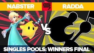 Nabster vs Radda - Ultimate Singles: Pools Winners' Finals - Genesis 7 | Rosalina vs Game & Watch