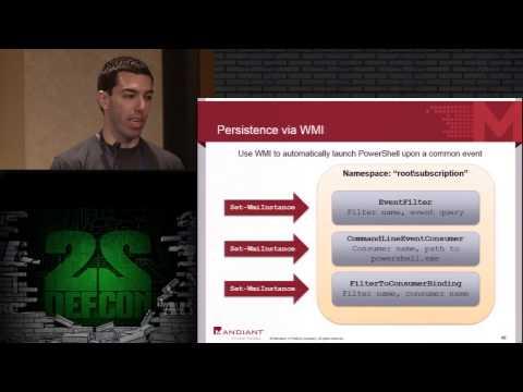 DEF CON 22 - Ryan Kazanciyan and Matt Hastings, Investigating PowerShell Attacks
