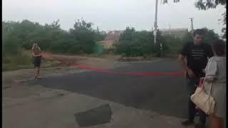 Жители ОС .Степовое сами себе сделали дорогу.