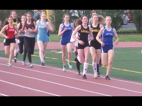 2014-5-15 IHSA Track 1600 Meters Girls Sectional @ Niles West High School, Skokie, IL