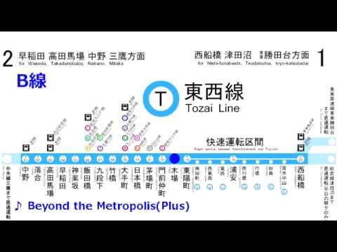 【向谷実】Beyond the Metropolis(Plus)【東京メトロ 東西線 発車メロディー】