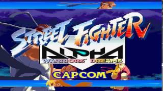 Street Fighter Alpha Arrange Theme