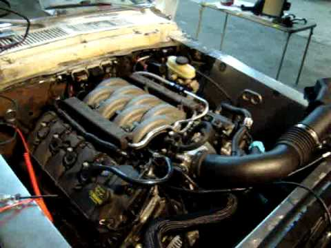 Ford 3 8 Engine Swap Wiring Harness 5 0l Coyote In 68 Mustang Fastback Restomod First Start
