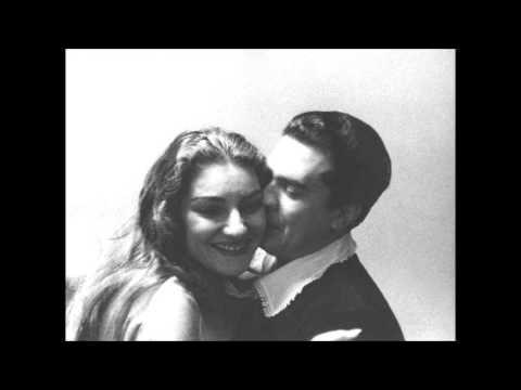 Maria Callas and Giuseppe di Stefano create mass Hysteria (end D6)