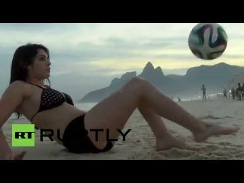 Brazil: Model Fiorella Castillo ready to take on Messi