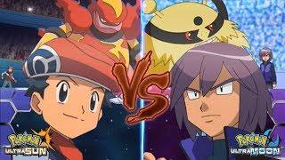 Pokemon Battle USUM Lucas Vs Paul (Sinnoh Face Off!)
