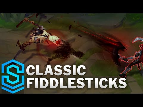 Classic Fiddlesticks, The Ancient Fear - Ability Preview - League Of Legends