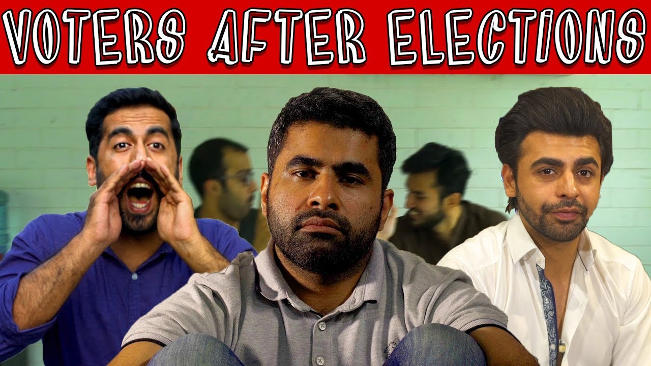 Voters after Elections (ft. Farhan Saeed) | MangoBaaz