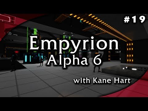 Empyrion Alpha 6.0.0 - Part 19 - Visit the planet Aestus Mining Gold and Erestrum Ore!