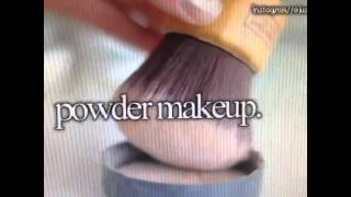 powder makeup funny vine october 2014