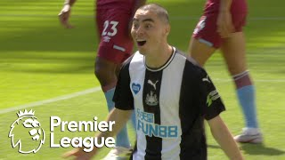 Miguel Almiron gets Newcastle back on level terms with West Ham   Premier League   NBC Sports