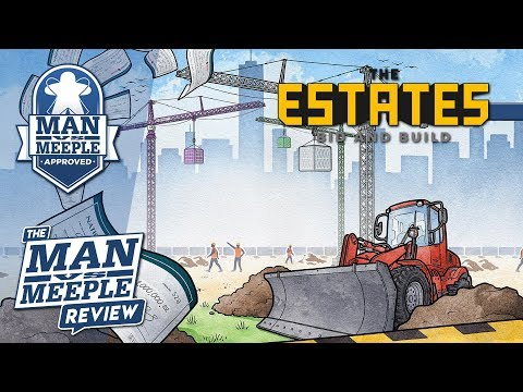 The Estates Review by Man vs Meeple (Simply Complex by Capstone Games)