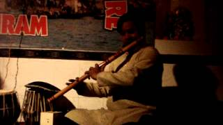 Indian flute played at the International Music Centre Ashram Varanasi