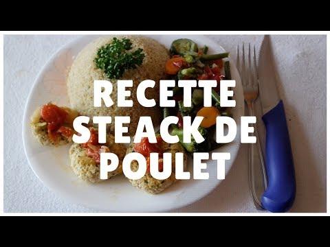 recette-musculation-:-steak-de-poulet-quinoa