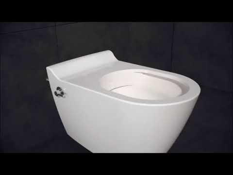 Goedkoop Duoblok Toilet.Wc Met Bidet I 16 Design Wandcloset Met Bidet Aanbieding