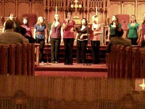 Mizzou's premiere women's a cappella group In Melting port concert for yirui part1