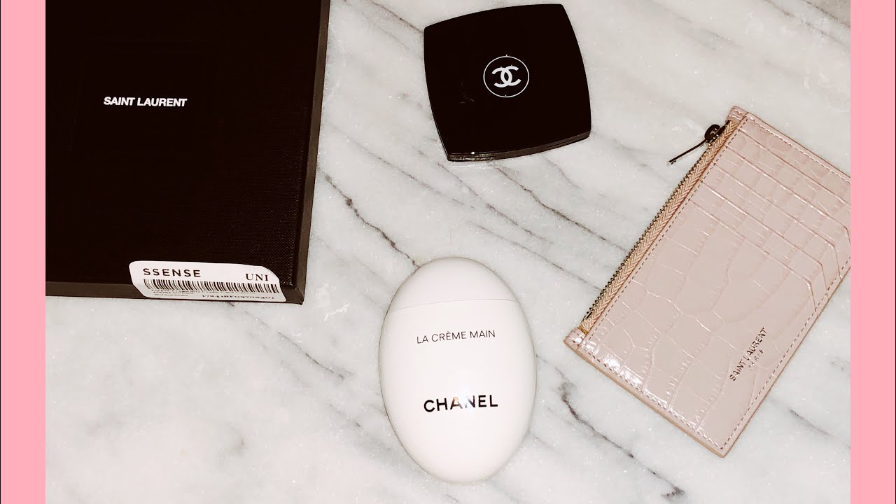 04d1507636a Saint Laurent zipped fragment credit card holder & Chanel - YouTube