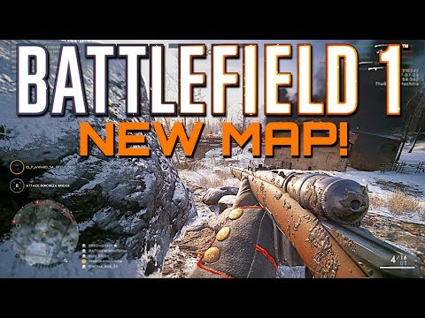 Battlefield 1: New Map Brusilov Keep Gameplay -  In The Name of the Tsar DLC
